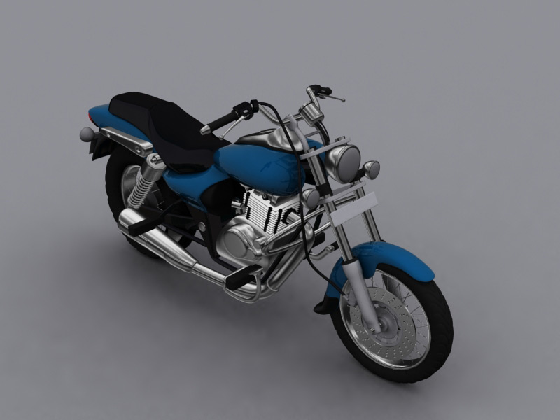 material render of bike